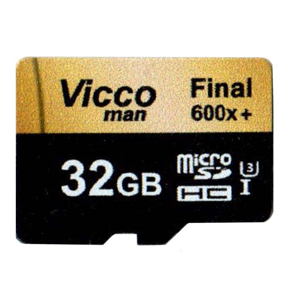کارت حافظه microSDHC ویکومن مدل Extra 600X کلاس ۱۰ استاندارد UHS-I U3 سرعت ۹۰MBps ظرفیت ۳۲ گیگابایت